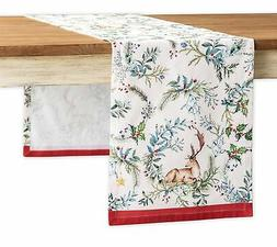 Maison d' Hermine Holly Time 100% Cotton Table Runner - Sing