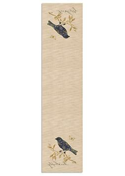 Heritage Lace Meadow Song Live Simply Table Runner, 16 by 60