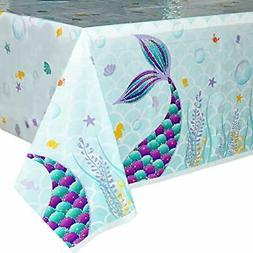 mermaid table cover 2 pcs 71