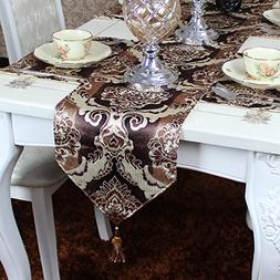 Ethomes Modern Velvet Pile Table Runner for Dinning/Tea/TV T
