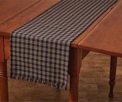 Navy Sturbridge Table Runner 13 X 54