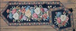 New Colorful Tapestry Country Floral Midnight Awakening Tabl