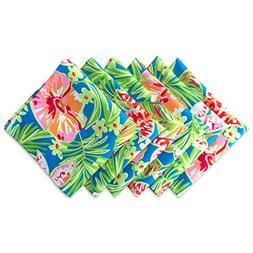 """DII Oversized 20x20"""" Napkin, Pack of 6, Summer Floral - Perf"""