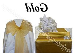 Perfectmaze Satin and Organza Combo Kit  for Wedding Party E