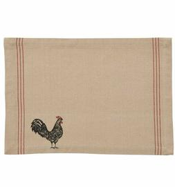 Placemat - Hen Pecked Rooster by Park Designs - Kitchen Dini