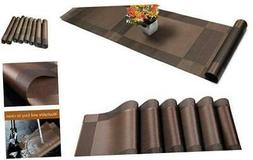 placemats set of 6 1 table runner