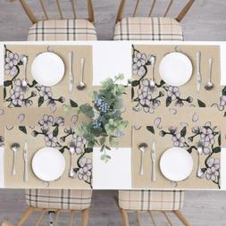 Randall Placemats Table Runner 5 pcs Set Dining Table Party