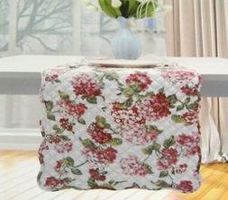"Waverly Quilted  Floral Table Runner Multi Color 14"" x 70"" 1"