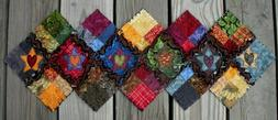 RAG QUILT Scrappy Table Runner  Handmade in Oregon! NEW! WOW