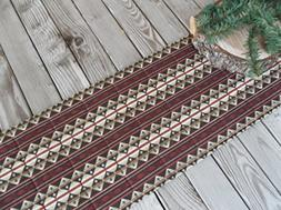 Ranch Rustic Quilted Fabric Table Runner or Sideboard Runner