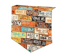 Yoovi Retro Double Sided Canvas Table Runners Brown License