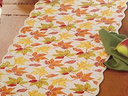 Harvest Season Reversible Decorative Quilted Cotton Table Ru