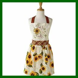 Rise & Shine Printed Apron Multi FREE SHIPPING Home Bed Bath