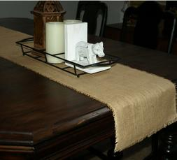Rustic Table Runner Burlap Jute Runner