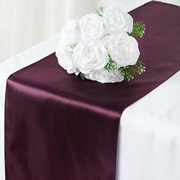 Efavormart 5PCS of Premium Satin Table Top Runner for Weddin