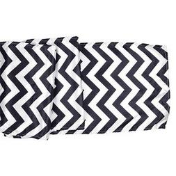 Just Artifacts Satin Table Runner Decoration -  - Chevron Bl