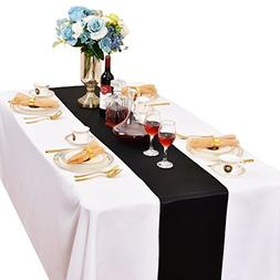 LOVWY Pack of 10 Satin Table Runner 12 x 108 Inchs for Weddi
