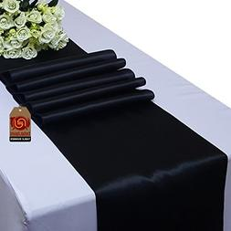 Parfair Dessin Pack of 10 Satin Table Runners 12 x 108 inch