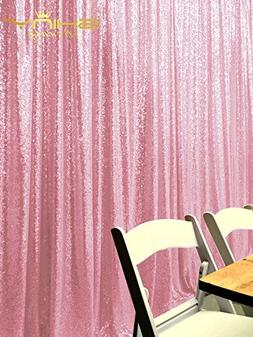 Sequin Backdrop- 3FTx5FT Shimmer Holiday Fabric Backdrops, S