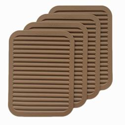 """9"""" x 12"""" Silicone Pot Holder, Heat insulated pad, Trivet Mat"""