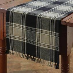 Soapstone Table Runner Park Designs Country Plaid Farmhouse