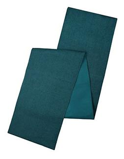 Cotton Craft - Solid Color Jute Table Runner 13x108 - Teal -