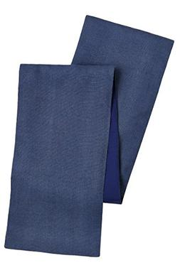Cotton Craft - Solid Color Jute Table Runner 13x72 - Blue -