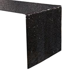 Kevin Textile 14 x 108 Inch Sparkly Sequin Table Runner for