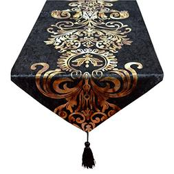 New Hot Stamping Contracted Classic Table Runner 13x70inch
