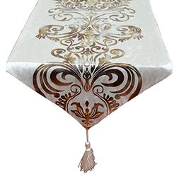 Yingsen Hot Stamping Contracted Classic Table Runner 13x70in