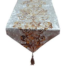 New Hot Stamping Contracted Classic Table Runner