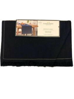 Threshold Table Runner 14 Inches x 72 Inches Dark Navy Blue