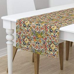 Table Runner - Mexican Cultural Herita Order Chaos Playful C