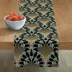 table runner art deco egyptian egypt papyrus
