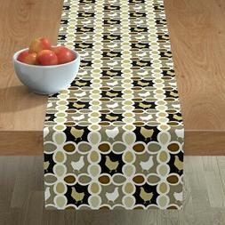 Table Runner Chicken Eggs Fowl Farm Poultry Apron Kitchen Co