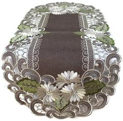 Doily Boutique Table Runner, Doily, Mantel Scarf with Daisie