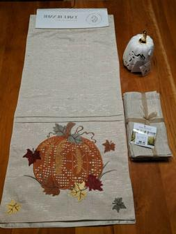 Secret Celebrity Table Runner for Fall with Accessories