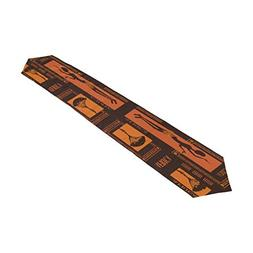 ALAZA Table Runner Home Decor,Abstract Pattern of African Wo