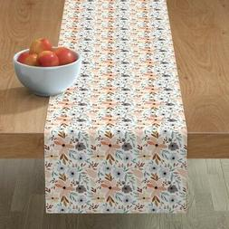 Table Runner Indy Bloom Apron Cotton Sateen