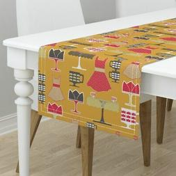 Table Runner Kitchen Retro Palette Limited Tulip Table Apron