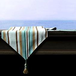 """Artbisons Table Runner Milano 95x13"""" Thickly Soft Luxury Han"""