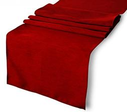 Tablecloth Runner Polyester 14 X 72 Inch Red By Broward Line