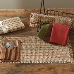 Park Designs Tweed Spice Placemats ~   ~~FREE SHIPPING~~  NE