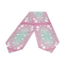 ABLINK Valentine's Day Pink Heart Polyester Table Runner 13