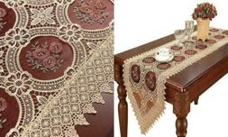 Simhomsen Vintage Gold Lace Table Runners and Scarves 16 ×