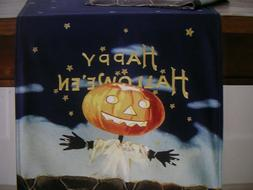 WILLIAMS SONOMA VINTAGE HALLOWEEN TABLE RUNNER 16 X 108 IN.