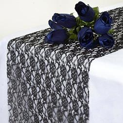MDS Pack Of 25 Wedding 12 x 108 inch Lace Table Runner For W