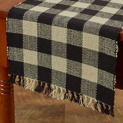 Park Designs Wicklow Yarn Black 13 x 36 Inches Length, Table