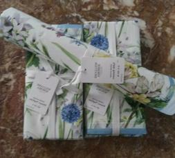 Williams Sonoma Set: Spring Blossom Table Runner 16x108 with