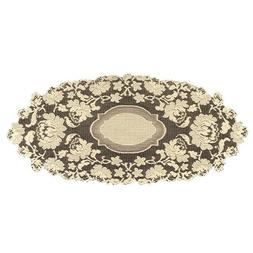 Heritage Lace Windsor 15-Inch by 33-Inch Runner, Ecru